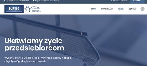 strona internetowa bmb-kancelaria