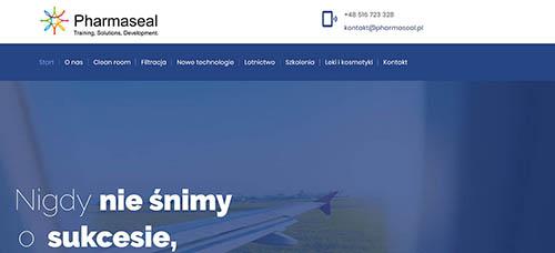strona internetowa pharmaseal